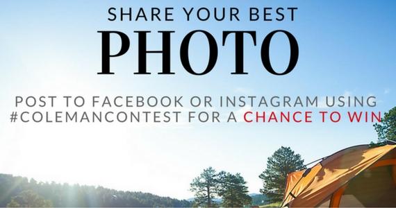 Coleman Outdoor Photo Contest