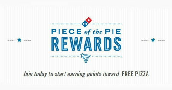 Piece of the Pie Rewards with Domino's Pizza