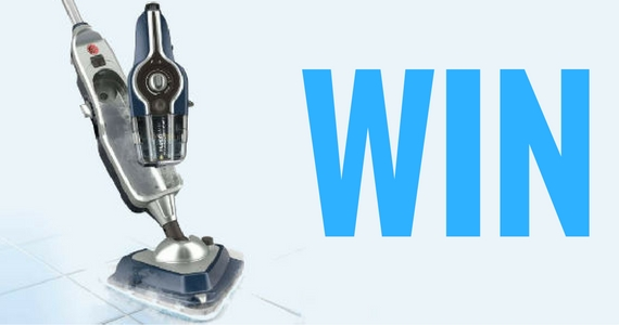 Win a Hoover Floormate SteamScrub 2-in-1