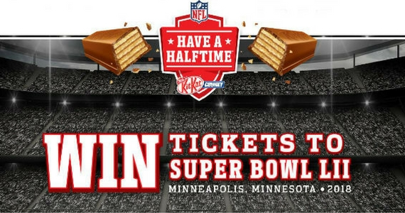 Win a Trip for 2 to the 2018 SuperBowl in Minnesota