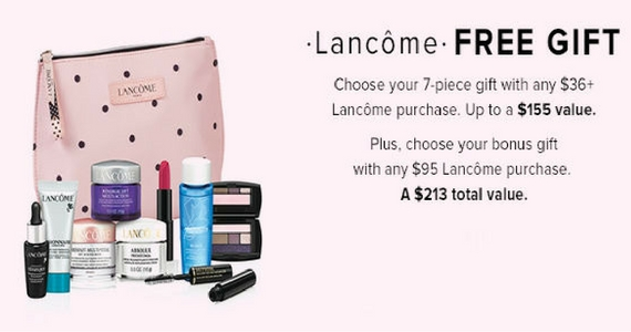 Free 7-Piece Gift With $36 Lancôme Purchase at The Bay