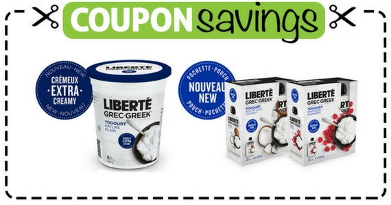 Save $1 Off Liberte Greek Yogurt