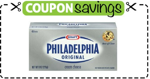 Save $1 off Philadelphia Cream Cheese Brick