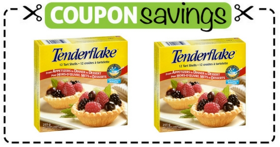 Save $1 off Tenderflake Products