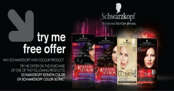 Free Schwarzkopf Hair Colour Rebate