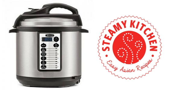 Win a Bella Pressure Cooker from Steamy Kitchen
