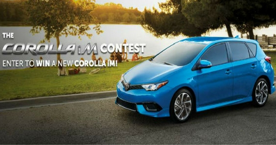 Win a 2017 Corolla iM