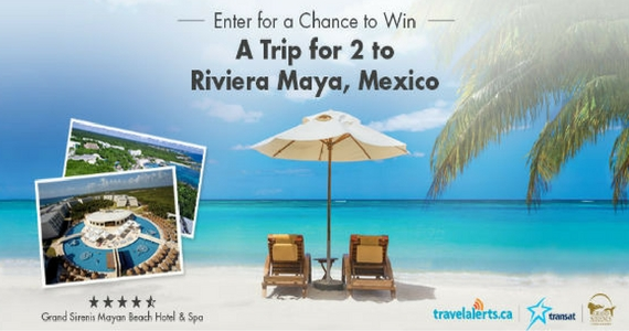 Win an All-Inclusive Trip to Riviera Maya, Mexico