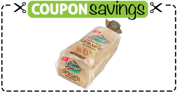 Save $1 Off Villaggio Artesano Bread