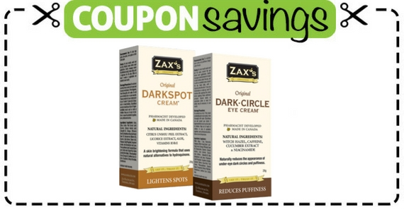 Save $5 Off Zax's Creams