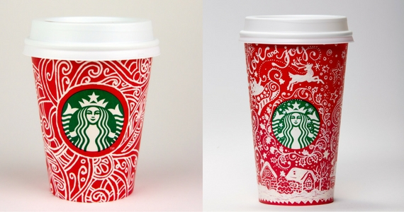 Canada red cups
