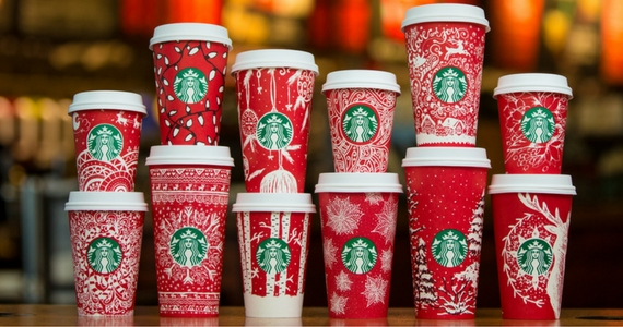 Share The Spirit With 13 New Starbucks Holiday Cups