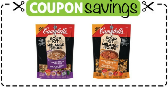 Save $1 on Any Campbell's Soup Kit Variety