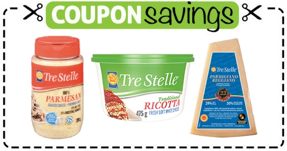 Save $1.50 Off Any Tre Stelle Cheese Product