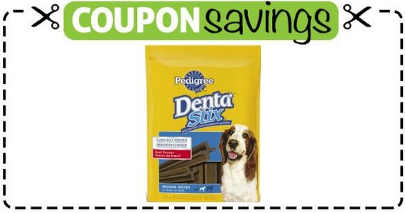 Save $2 Off Pedigree Denta Stix