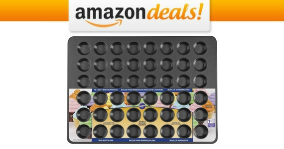 Get a Wilton 48-Cup Mini Muffin Pan for $14.97