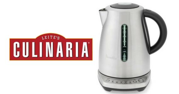 Win a Breville Temp Select Tea Kettle
