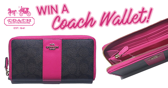 Win a Coach Wallet!