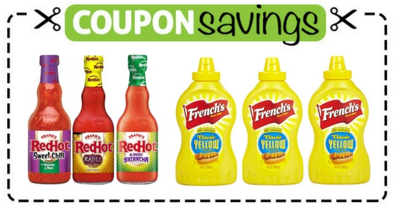 Frank's Red Hot and French's Coupons