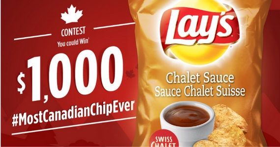 #MostCanadianChipEver Contest