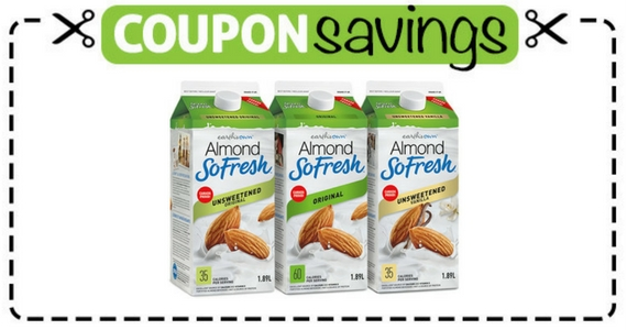 Save $1.50 Off SoFresh Almond or Cashew Beverage