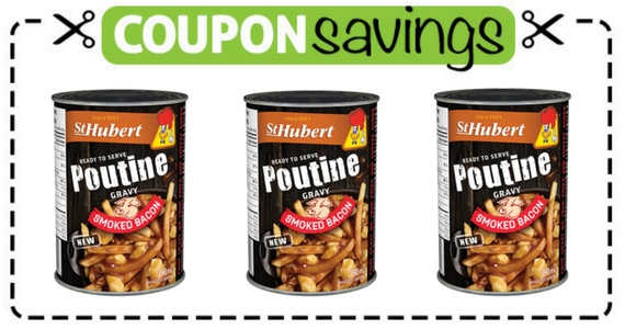 Save $1 off St. Hubert Poutine Gravy