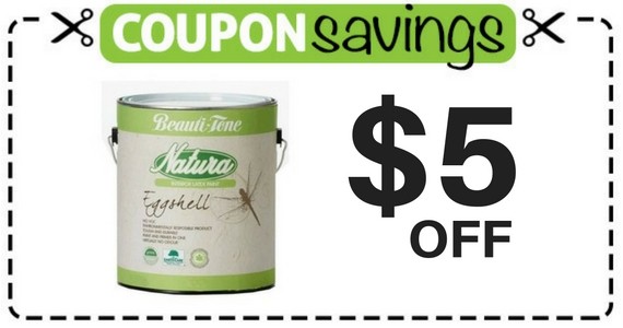Save $5 Off Beauti-Tone Natura Paint and Primer