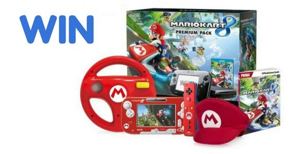 Win a Nintendo Wii U Mario Kart 8 Bundle