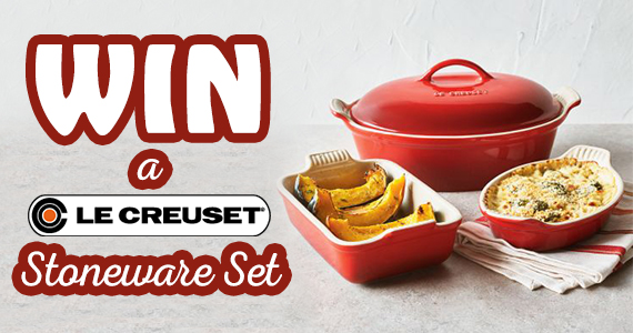 How Sweeps It Is – Win Le Creuset Stoneware