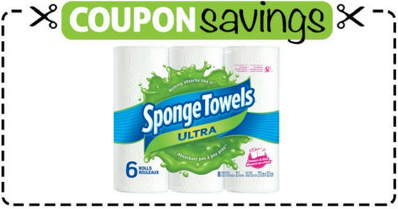 Save $1 off SpongeTowels Ultra