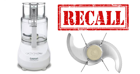 Cuisinart Recalls 8 Million Food Processor Blades