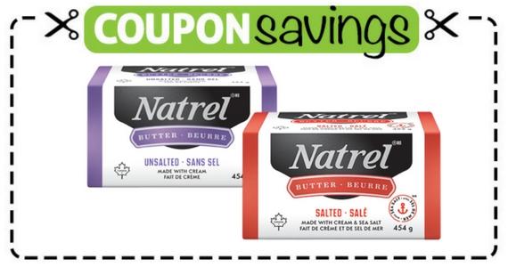 Save $1 off Natrel Butter