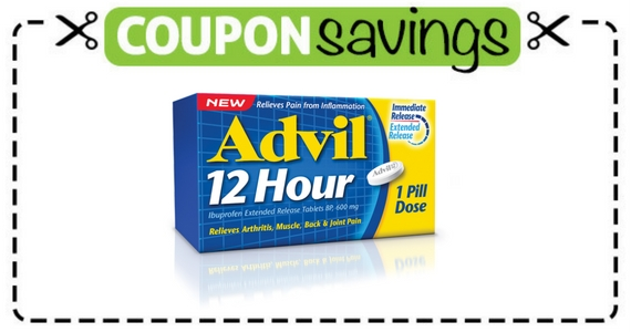 Save $4 Off Advil 12 Hour 30 or 52 Tablet Pack