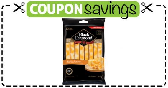 Save $1.50 Off Black Diamond Natural Cheese Sticks