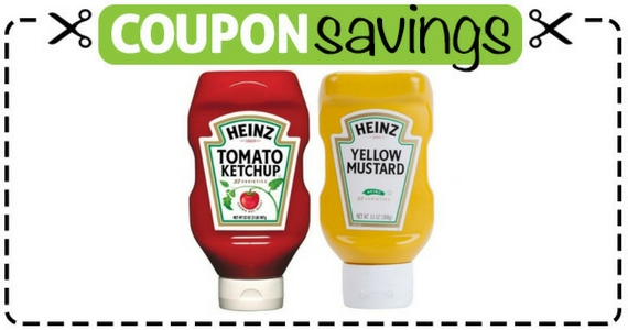 Save 50¢ Off Heinz Ketchup or Mustard