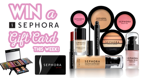 Win a Sephora Gift Card This Week