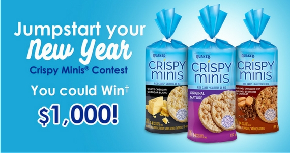 Win $1,000 Cash with Crispy Minis