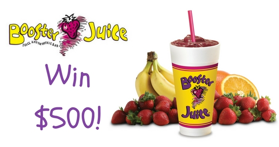 Win $500 with Booster Juice
