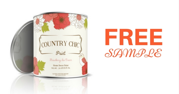 Free Sample of Country Chic Paint