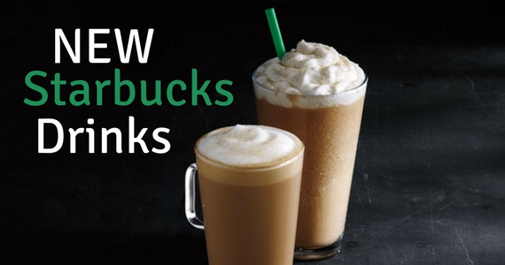 Ready to Try the Two Newest Drinks from Starbucks?