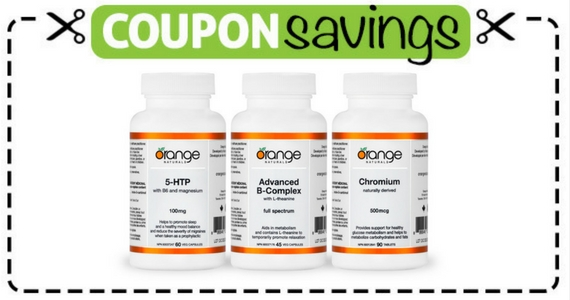 Save $5 on Orange Naturals Products