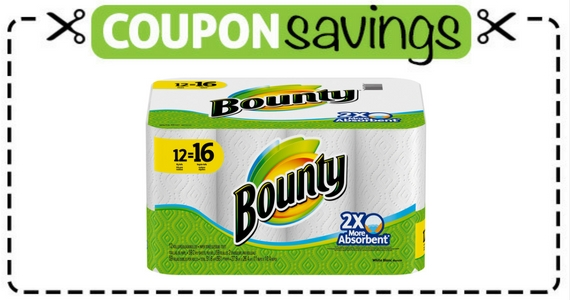 Save 50¢ on Any Bounty Product