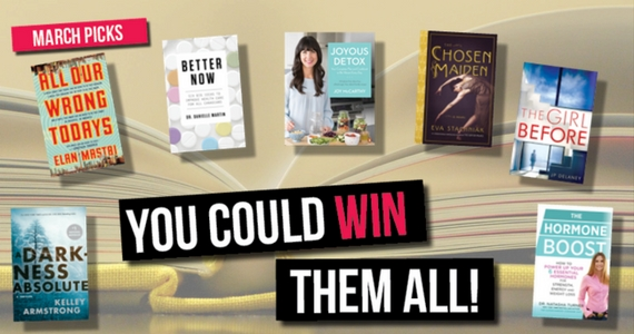Win 1 of 4 Book Prize Packs