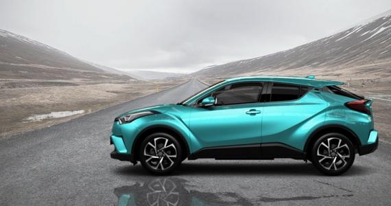 Win a 2018 Toyota C-HR