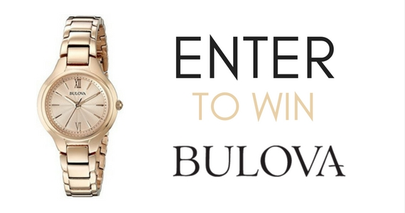 Win a Bulova Women's Rose Gold Watch
