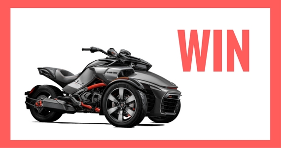 Win a Can-Am Spyder F3