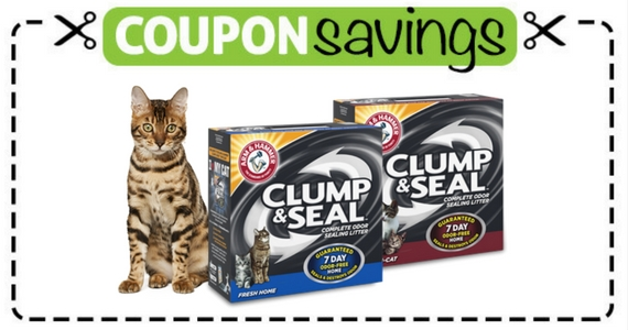 $3 Off Clump & Seal Cat Litter