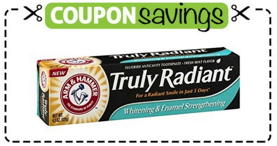 75¢ off Arm & Hammer Toothpaste