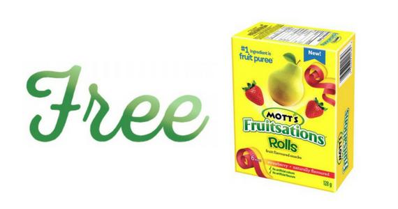 Free Mott's Fruitsations Rolls