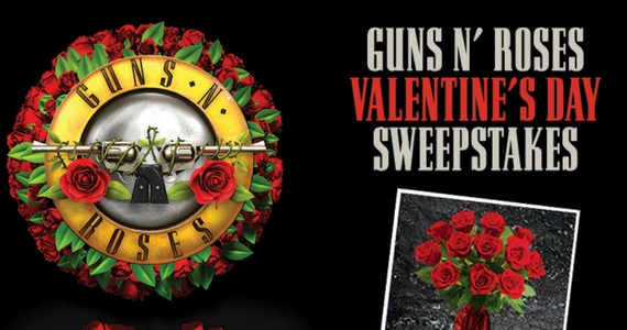 Guns N Roses Valentine's Day Sweepstakes